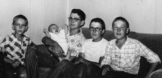 Nancy Hill and Brothers 1957